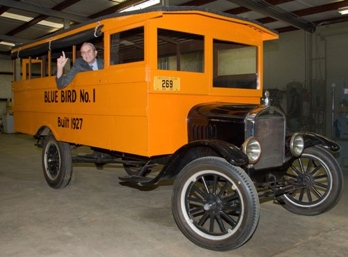 Albert Luce Sr. built Blue Bird No. 1 more than 85 years ago